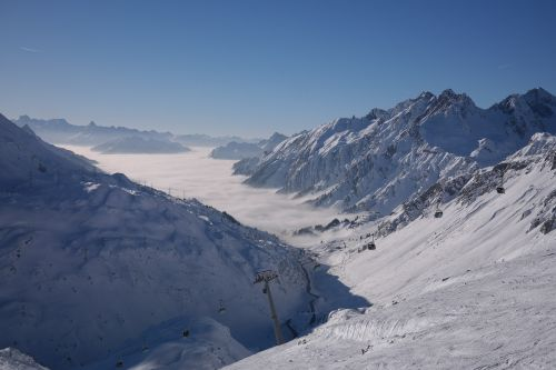 ski area arlberg ulmer hütte