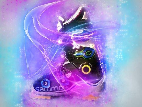 ski boot  ski  boots