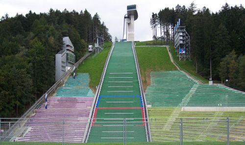 ski-jump innsbruck austria
