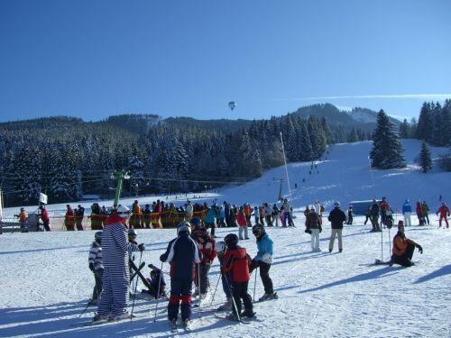 ski lessons children's ski course ski instructors