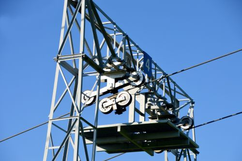 ski lift construction wheels