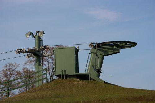 ski lift lift machine