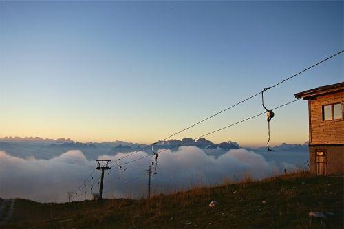 ski-lift summer lift