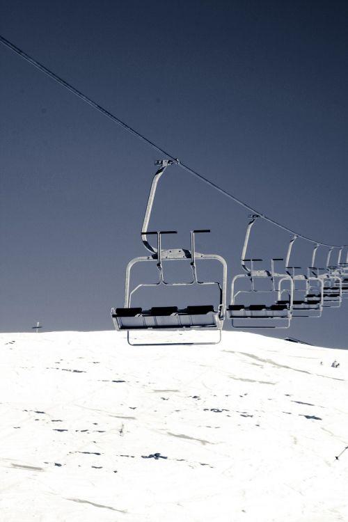 ski lift lift chairlift