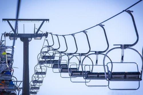 ski lift chairlift skiing