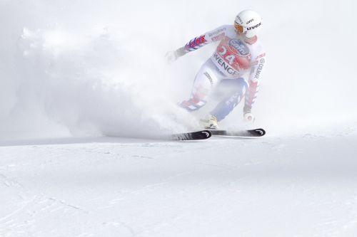 ski race world cup lauberhorn race