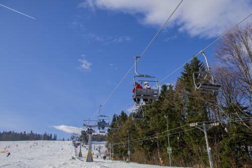 ski resort winter ferie