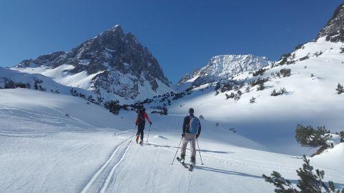 backcountry skiiing lech valley skitouren predecessor