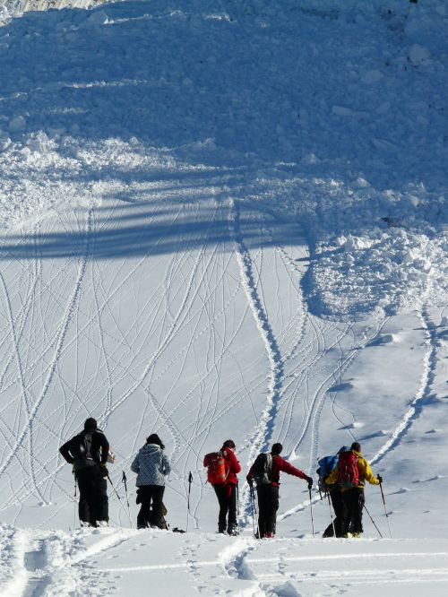 backcountry skiiing avalanche loose snow avalanches