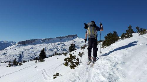backcountry skiiing ifen ski