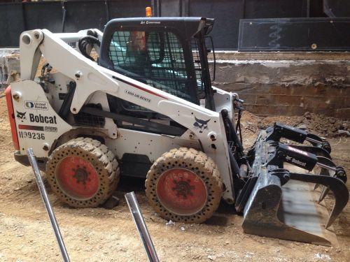 skid steer loader heavy equipment construction
