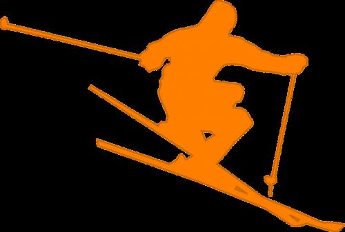 skier ski freestyle