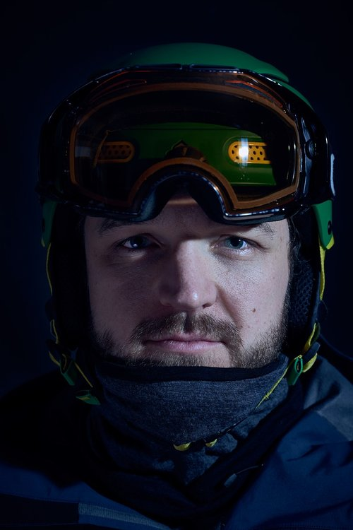 skiers  portrait  man