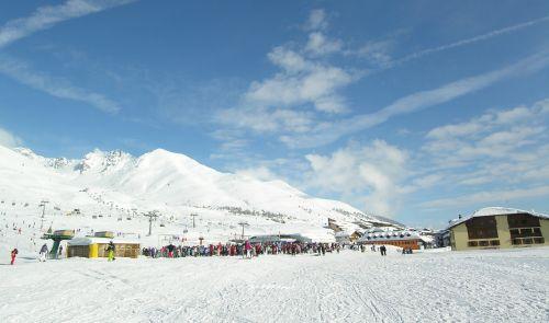 skiing ski ski area