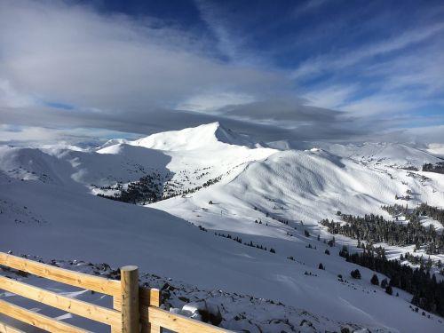 skiing copper mountain rocky mountains
