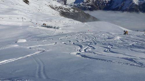 skiing winter sports snow
