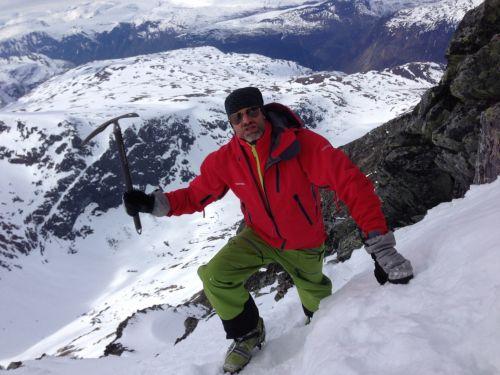 Skiing And Climbing