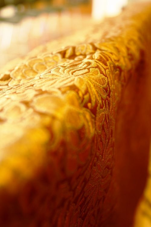 oda, antklodė, siuvimas, oranžinė, nuo, antklodė, gobelenas