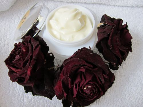 skin care natural cream rose
