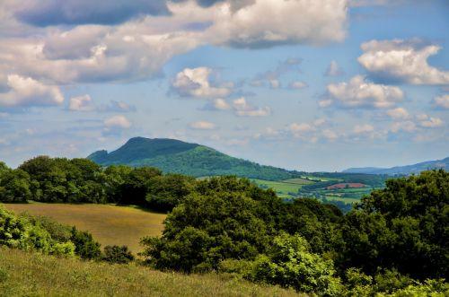 skirrid mountain hill mountain