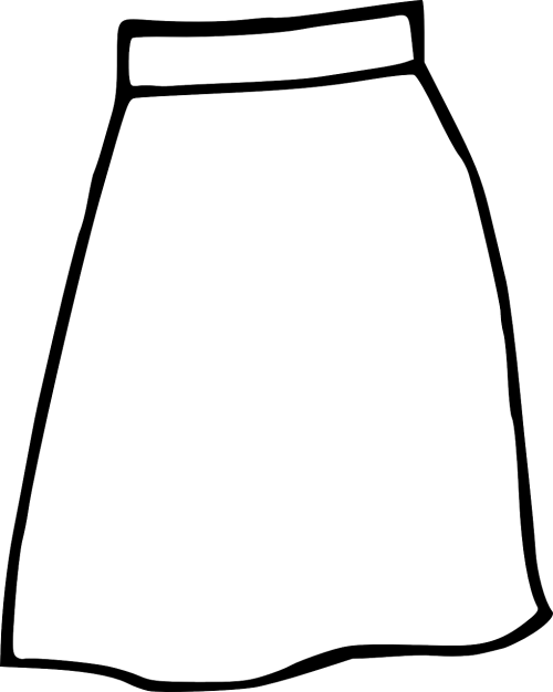 skirt clothing woman