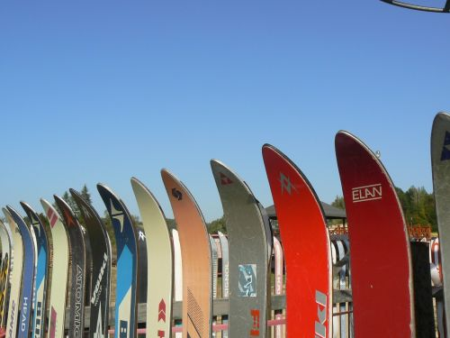 skis the fence exhibition