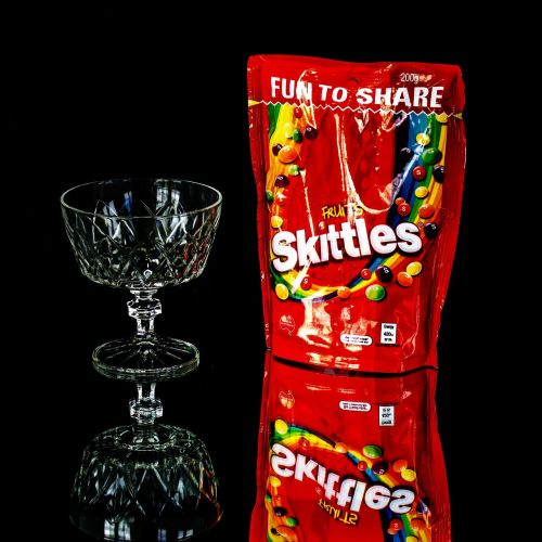 skittles sweets lollies