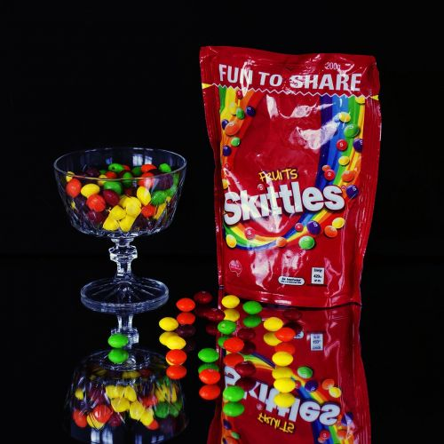 skittles lollies sweets
