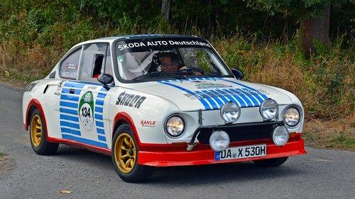 skoda 130 rs  oldtimer  auto