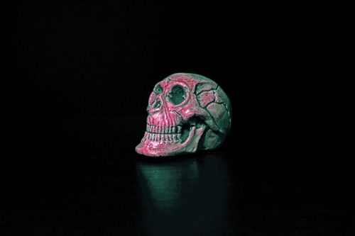death skull paperweight