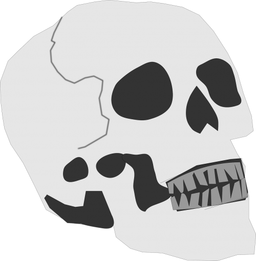 skull bones death