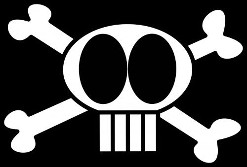 skull funny crossbones