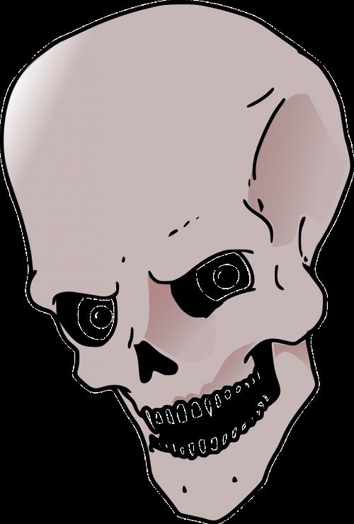 skull bad evil