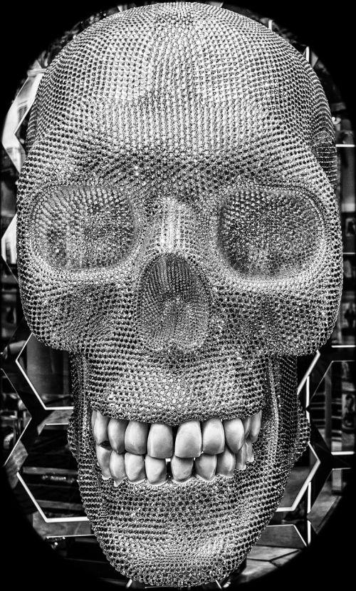 skull skull and crossbones tooth