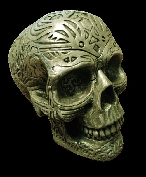 skull spooky scary