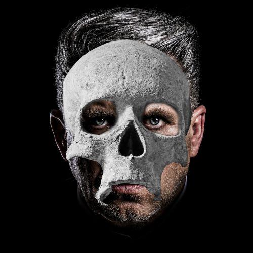 skull portrait mask