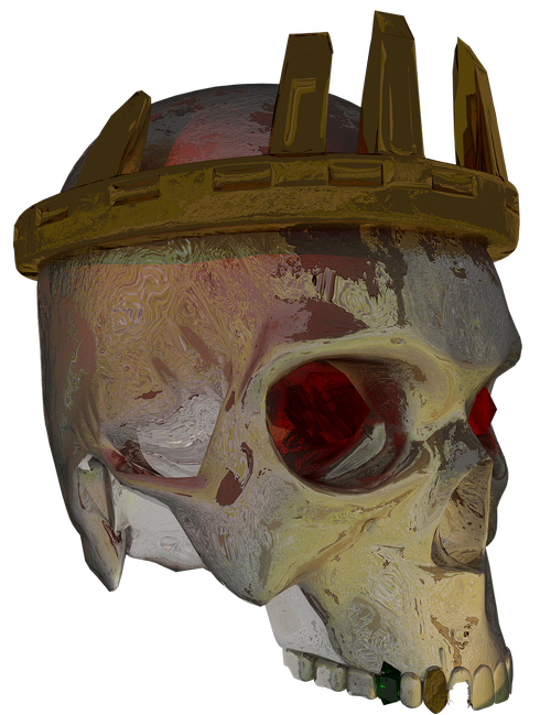 skull  crown  king
