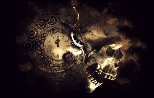 skull  skull bones  death
