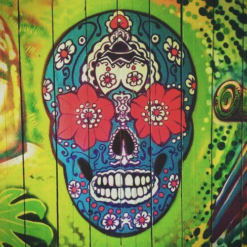 skull symbol mexican