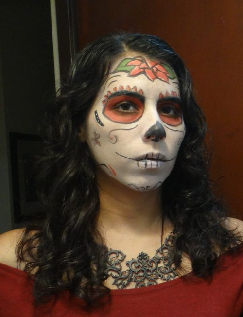 skull day of the dead mexico