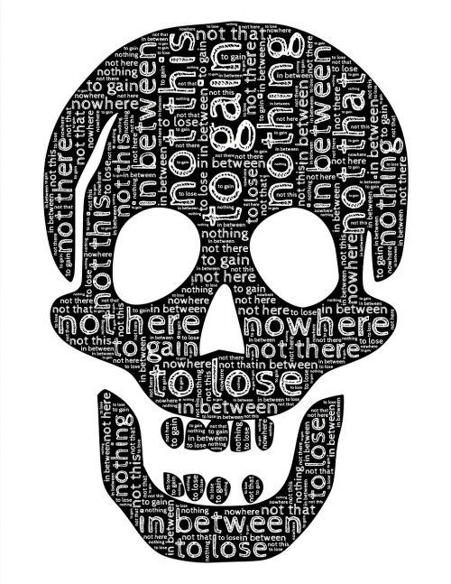 skull despair frustration