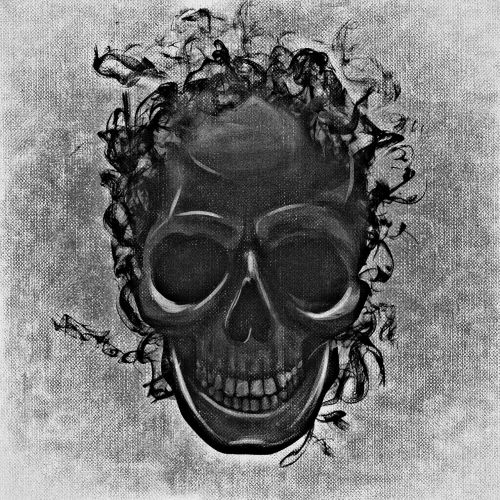 skull and crossbones creepy darkness