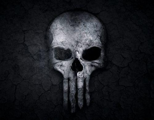 skull and crossbones skull weird