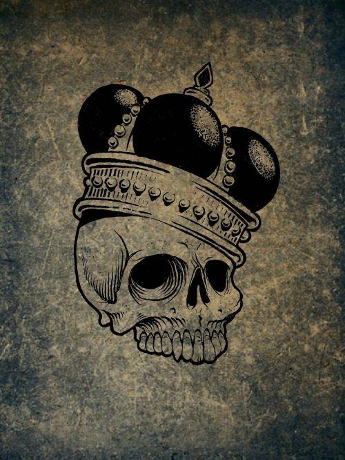 skull and crossbones weird skull