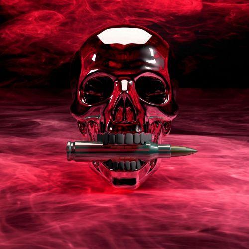 skull and crossbones hell weird