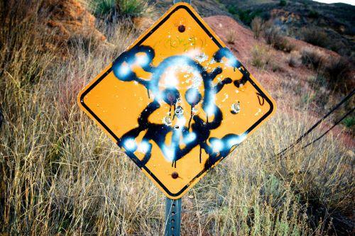 Skull And Crossbones Graffiti