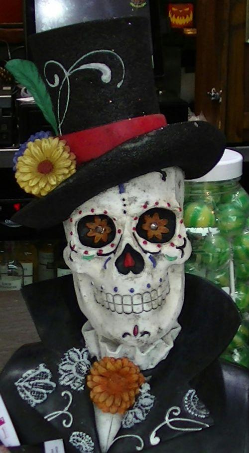 baugus, skeletas, skeletas, kaukolė, kaukolės, viršuje, skrybėlę, ragana, raganos, creepy, įsiuvas, gory, siaubas, Halloween, vaiduoklis, vaiduoklis, vampyras, ghouls, Zombie, zombiai, baimė, bauginantis, košmaras, košmarai, velnias, velniška, kaukolė su viršutine skrybale