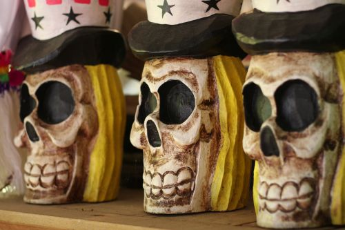 skulls uncle sam skull halloween
