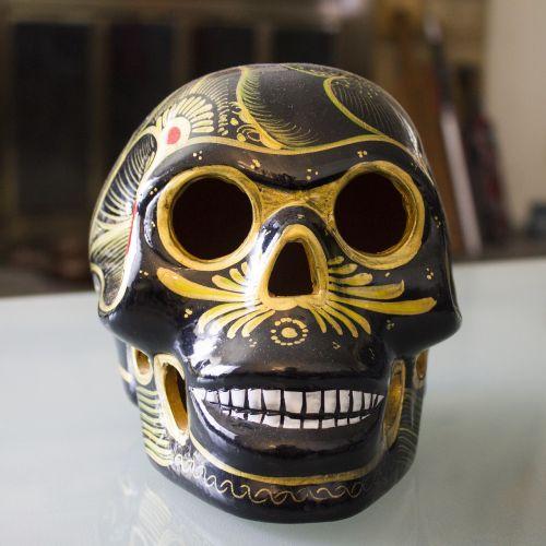 skulls campeche dia de los muertos