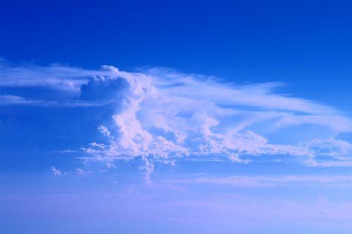 sky cloud plane